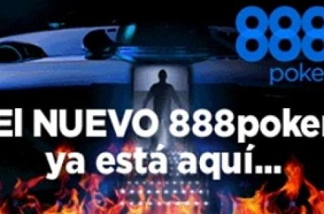 """¡888 poker lanza por todo lo alto su nuevo software: """"Jugamos diferente""""!"""