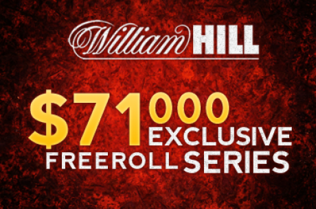 $71,000 i Club PokerNews Freerolls hos William Hill Poker