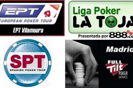 ¡Agosto de seguimientos en Es.PokerNews.com y Poker10.com!