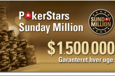 Dansk 2. plads i Sunday Million