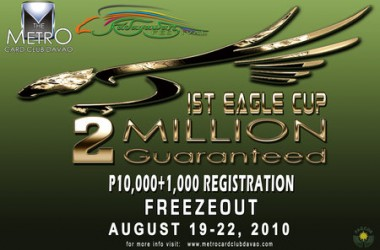 Inaugural Eagle Cup Now Underway in Davao