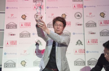 Shinichi Cho Wins Tokyo Poker Tour's Third Ever Event