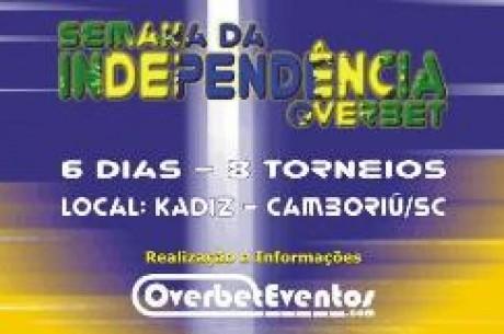 Semana da Independência Overbet: Oito Torneios em Seis Dias