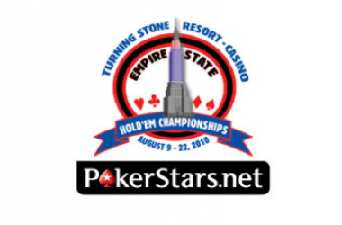 PokerStars.net Empire State Hold'em Championships Wrap Up at Turning Stone
