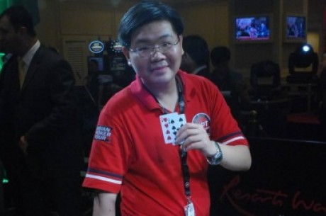 Michael Cua赢得2010年APT菲律宾站主赛事冠军