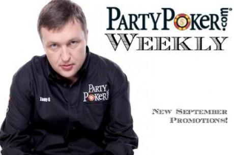 PartyPoker savaitraštis: WPT Londonas, TonyG tampa taikos balandžiu, prasibraukite iki $5000...