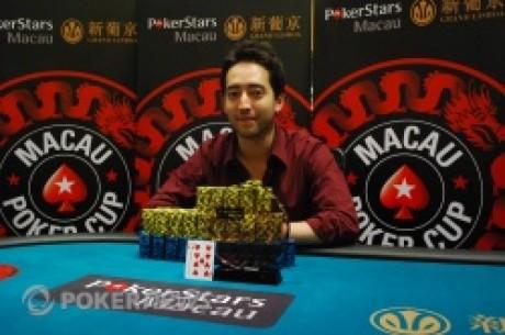 McCarty统治了澳门扑克之星 MPC红龙锦标赛