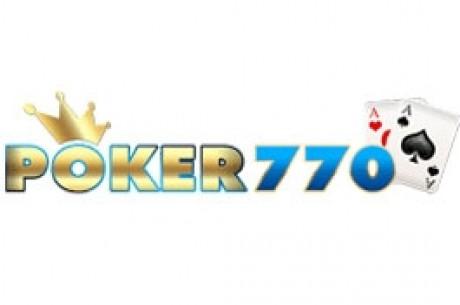 $2,770 PokerNews Freeroll na Poker770 - Período de Qualificação Termina Hoje às 23:59!