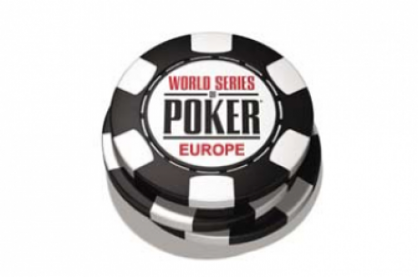 World Series of Poker Europe (WSOPE) Starts Today