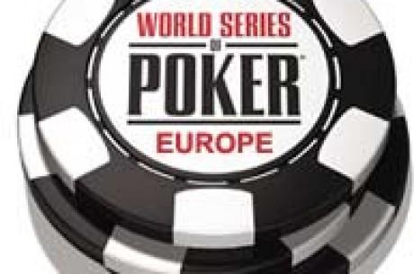 World Series of Poker Europa drar igång idag med £2,650 NLHE 6-max