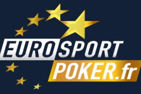 Exclu Eurosport Poker : quatre freerolls Pokernews 1200€ tickets live et online à gagner