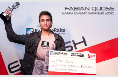 English Poker Open 2010 vanns av Fabian Quoss