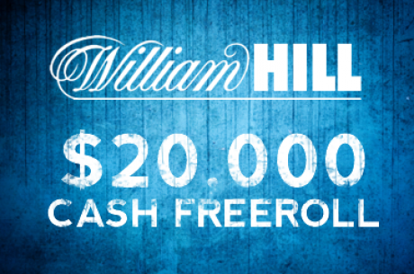PokerNews $20,000 Payday na William Hill Poker este Domingo - Ainda te podes qualificar!