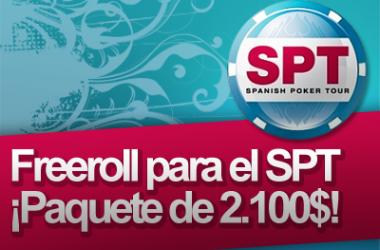 Hoy Domingo, FREEROLL: ¡puedes ganar un PAQUETE (gastos+buy-in) para jugar el SPT de Valencia!