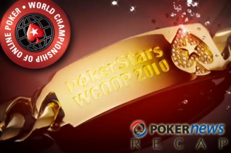 World Championship of Online Poker - Dag 16: Jason Mercier wint bracelet