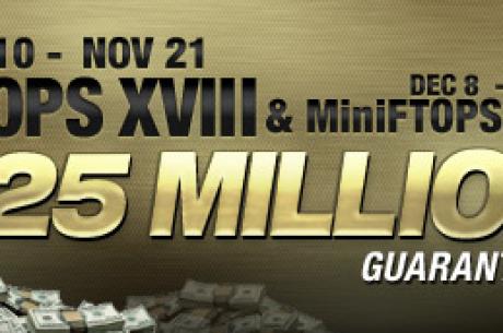 Full Tilt обяви FTOPS XVIII и MiniFTOPS XVIII