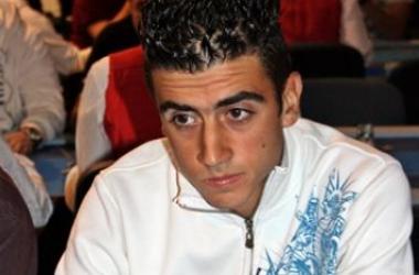 Etapa #10 de la Liga 888.com Poker La Toja, Ramón González Cruz, líder del día 1B