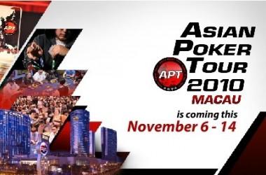 11月APT澳门站开赛在即 群英聚首澳门新濠天地HARD ROCK扑克室