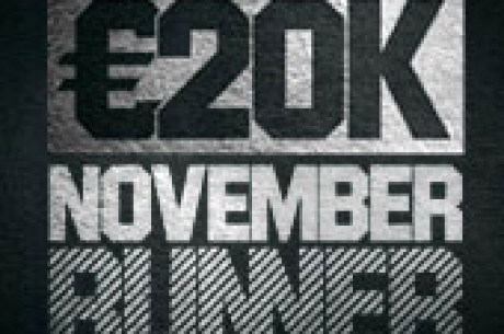 Unibet November Runner - võida oma osa €20 000-st!