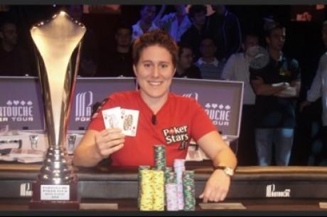 Polední turbo: Vanessa Selbst vyhrála Partouche Poker Tour a další
