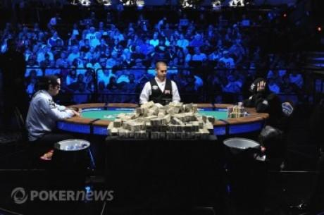 La mesa final del Main Event WSOP: todas las cifras, porcentajes y estadísticas