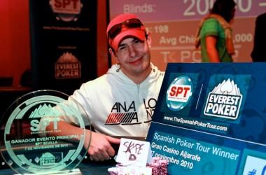 Álvaro Santamaría nyerte a 2010 Spanish Poker Tour második legnagyobb versenyét!