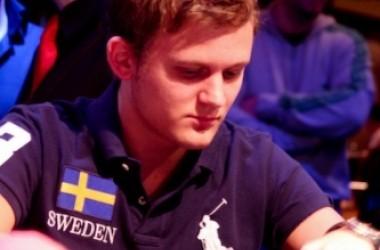 Kristoffer Edberg och Peter Nordin i Master Classics of Poker 2010 final