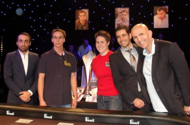 Catman's Column -Partouche Poker Final, Vanessa Selbst & the Schoolboy
