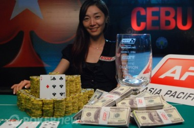 2010 PokerStars.net APPT Cebu Day 4: Young-shin Im Crowned First Female APPT Champion in Cebu!