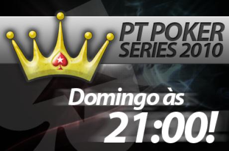 PT Poker Series #19 - Hoje às 21:00 No-Limit Hold'em 6-máx