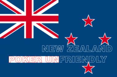 Хазартен покер обрат в Нова Зеландия