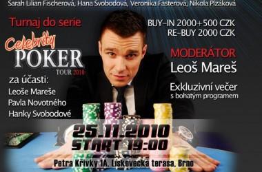 Showdown Poker Club Lískovecká terasa vás zve 25. 11. na OPENING PARTY
