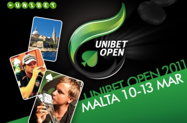 Unibet Openi Malta satelliidid on alanud!