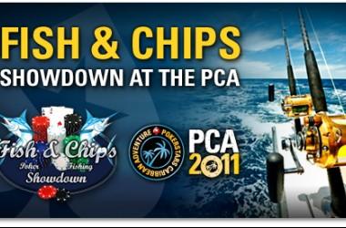 Прясна риба и пържени картофки от PokerStars на Бахамите
