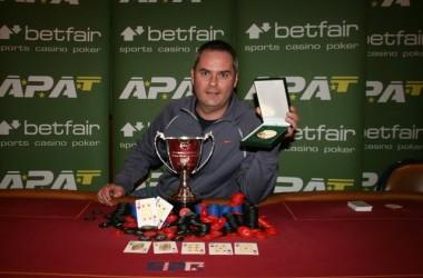 Brian Martin Wins APAT European Amateur Poker Championships