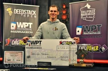 WPT Marrakech vyhrál Sebastian Homann
