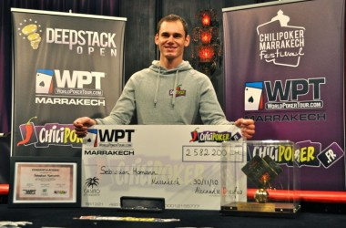 World Poker Tour Marrakech: Homann Scores Wire-to-Wire Win