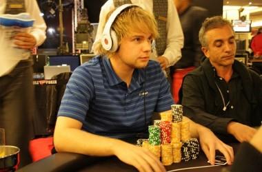 Ole Remi (Noruega) acaba líder en fichas, en el día 2 de la Gran Final de las Full Tilt Poker...