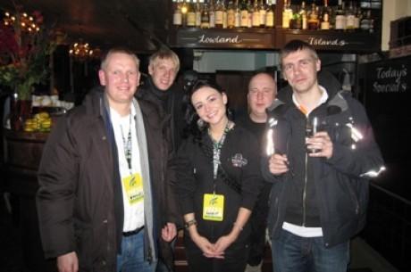 Unibet Openi päevik (2): Tegus päev Londonis