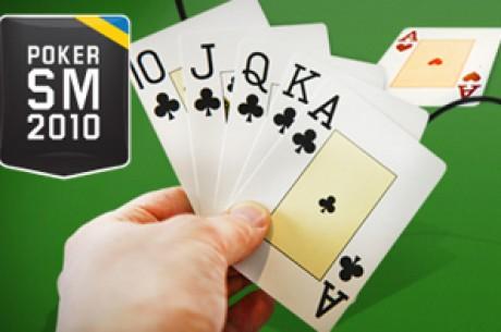 SvePof & Unibet Poker-SM en stor besvikelse i deltagarantal
