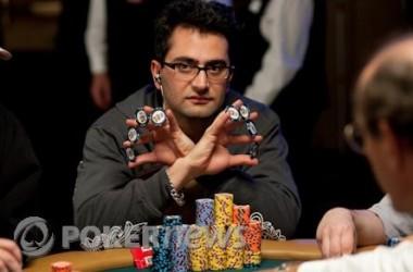 Další den Five Diamond World Poker Classic je za námi a v čele je stále Esfandiari