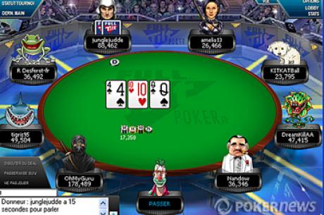 FullTilt Poker : Mini-FTOPS France 300.000€ garantis (programme complet)