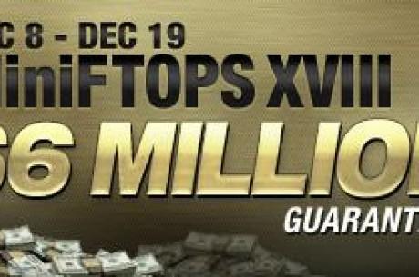 Vypukla série MiniFTOPS na Full Tilt Pokeru