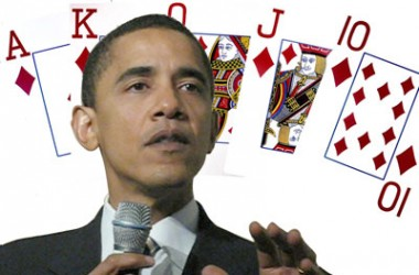 Barack Obama e sua Poker Face
