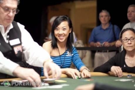 Репортерката на PokerNews Kristy Arnett спечели MiniFTOPS турнир #12!