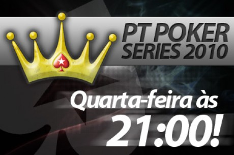 Às 21:00 na PokerStars - PT Poker Series #26 No Limit Hold'em