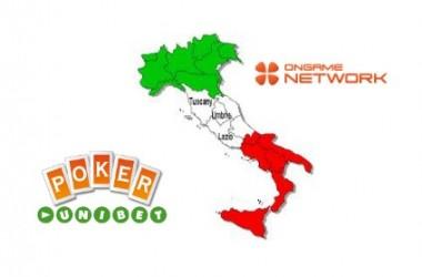 Унибет атакува Италия в покер комбина с Ongame