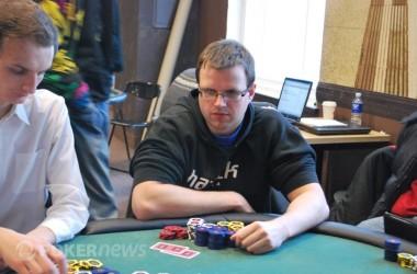 PokerStars.net LSPT Vilniaus etape triumfavo pirmosios dienos lyderis