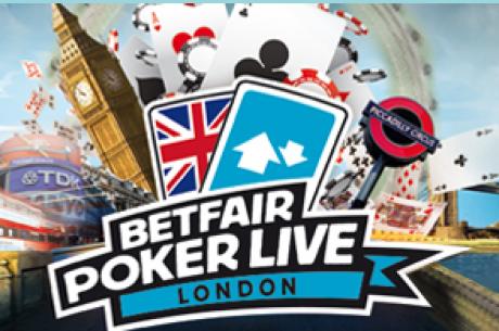 Betfair Poker Live Coming to London