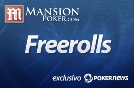 Clasifícate fácilmente para el freeroll de 1.200$ de Mansion Poker